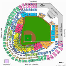 Rangers Seating Chart Texas Rangers Ballpark Seating Map Secretmuseum