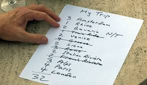 Make A Vacation Itinerary European Itinerary Tips By Rick Steves