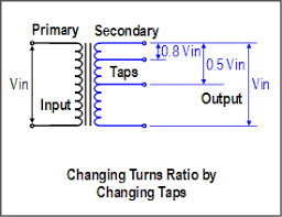 avr guide tap changing voltage regulator operation ust what are transformer taps why are they used at Transformer Taps Diagram