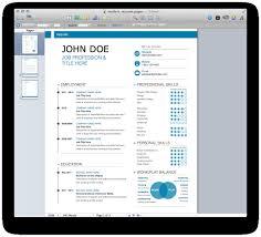 Free Resume Templates New Mac Template Modern Mactemplates