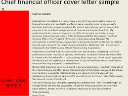 2 chief financial officer cover letter cfo cover letter