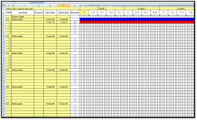 Gantt Project Planner Template Excel Best Chart 25 Images Of