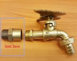 brass garden tap faucet adapter basin