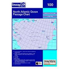 Imray Chart 100 Paper Passage Chart 100 North Atlantic Ocean