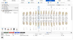 Dental Charting Key Charting Menu Supernumerary Macpractice Helpdesk