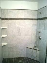 tile shelf for shower stall shelves extraordinary custom with ceramic corner