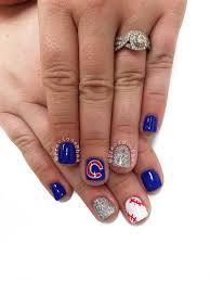 Nail Design Chicago Chicago Cubs Baseball Nails Preciousphan Baseball