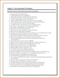 Subject Verb Agreement Worksheets Grade For Free Printable Worksheet ...