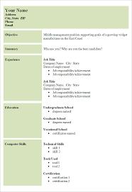 Basic Resume Format Impressive Simple Basic Resume Fabulous Resume Format Basic Sample Resume