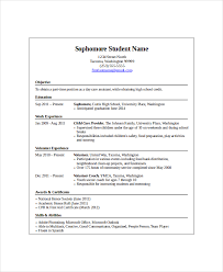 High School Student Resume Gorgeous 28 High School Student Resume Templates PDF DOC Free Premium