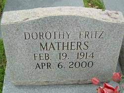 Dorothy Elva Fritz Mathers (1914-2000) - Find A Grave Memorial