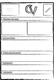 Cool Blank Resume Template Doc Contemporary Resume Ideas