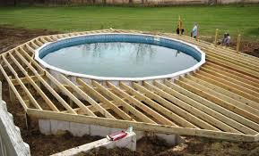 above ground pool decks. Swimming Pool Decks Above Ground Designs Interesting Design Inspiration Pools Hyunkycom O
