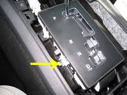 can't shift out of park, into gear, and pink thingy replacement  at 2010 Dodge Charger Gear Selector Wire Connection Diagram