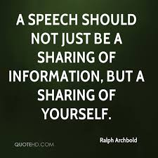 Speech Quotes Impressive Ralph Archbold Quotes QuoteHD