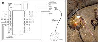 wiring diagram for connecting a max31855 thermocouple board to the wiring diagram for connecting a max31855 thermocouple board to the nanologger a