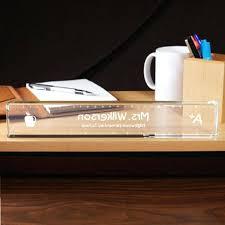 personalized desk accessories monogrammed black