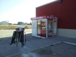 gas station self serve pet wash
