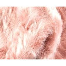 dusty pink rug fluffy