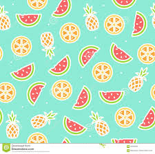 pineapple and watermelon background. royalty-free vector. download watermelon, pineapple and orange tropical fruit background watermelon