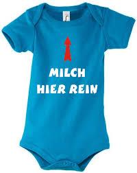 Baby Body Mit Motiv Milch Hier Rein Fafuarcom Onlineshop