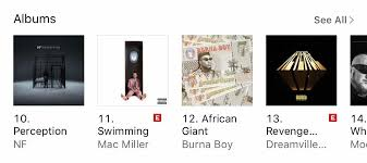 Swimming Is 11 In The Hip Hop Rap Charts On Itunes Macmiller