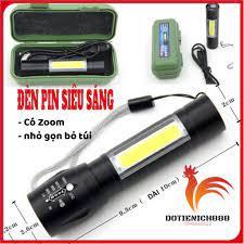 Đèn Pin MINI Siêu Sáng Cao Cấp Có Zoom tại Hà Nội