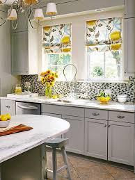 Yellow And Gray Kitchen Decor photo - 2