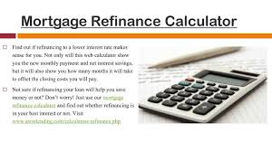 calculator refinance mortgage mortgagesss mortgage refinance calculator