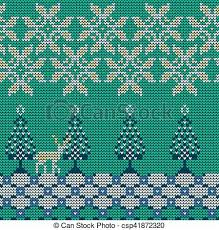 christmas sweater pattern background green. Modren Sweater Christmas Sweater Pattern  Csp41872320 And Background Green S