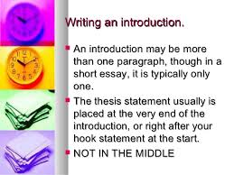 how to write a literary essay introduction and thesis 16 writing an introduction