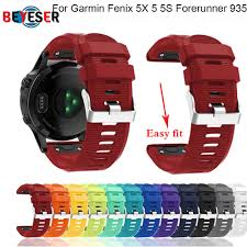 <b>26 22 20MM</b> Watchband Strap for Garmin Fenix 5X 5 5S Plus 3 3HR ...