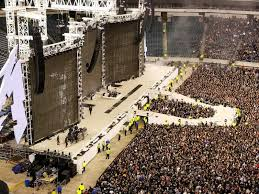 Metallica Seattle Seating Chart Lincoln Financial Field Section 201 Row 5 Seat 16