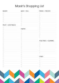 Shopping List Notepads - Padtastic
