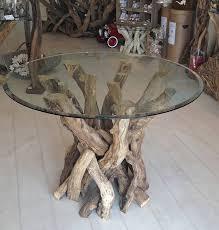 driftwood dining table base uk. driftwood round dining table with or without glass top base uk r