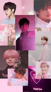 jhope pink aesthetic ...