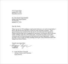 Resignation Letter: Resignation Letter For School Reason Sample ...
