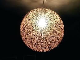yarn ball chandelier yarn ball chandelier together with string chandelier s make string ball chandelier yarn