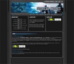 counter strike source theme free gaming templates clantemplates