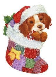 Картинки по запросу собака новогодняя