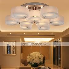 maishang flush mount ambient light chrome metal acrylic mini style 110 120v 220 240v bulb not included e26 e27 218347 2018 234 49
