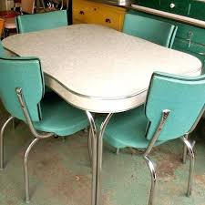 Vintage table and chairs Formica Table Vintage Digsdigs Vintage Formica Dinette Sets Antique Kitchen Table And Chairs Red