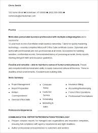Functional Resume Templates Functional Resume Template Free As