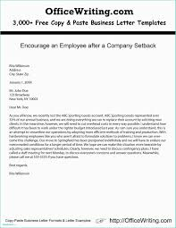 Business Letter Format With No Letterhead Example Of A And