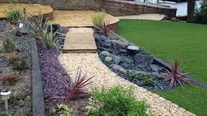 large multi level front garden mount