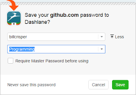 How to add, rename, or delete categories – Dashlane