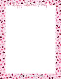 happy valentines day borders. Simple Borders Printable  To Happy Valentines Day Borders Y
