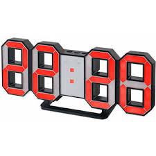 <b>Часы</b>-будильник LED <b>Perfeo Luminous PF</b>-<b>663</b>, черный корпус ...