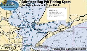 West Galveston Bay Depth Chart Galveston Bay Fishing Spots Texas Fishing Spots And