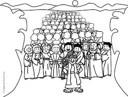They think of a charming prince on a white horse, beautiful dresses and fairy animals. Israelites Crossing The Red Sea Coloring Page Coloring Home